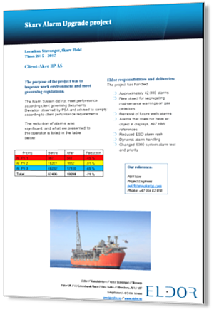 Aker BP Skarv Alarm Upgrade