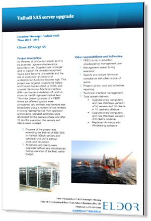 BP Valhall SAS Server Upgrade_3D