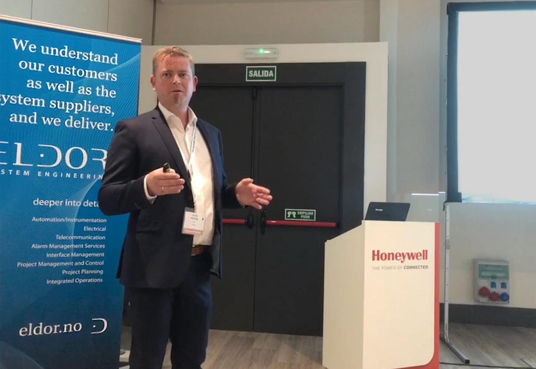Eldor at Honeywell User Group EMEA HUG2018