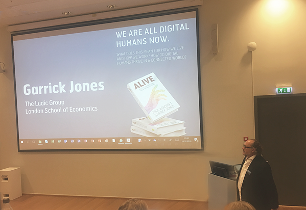 Garrick Jones  - Digital humans and their organizations