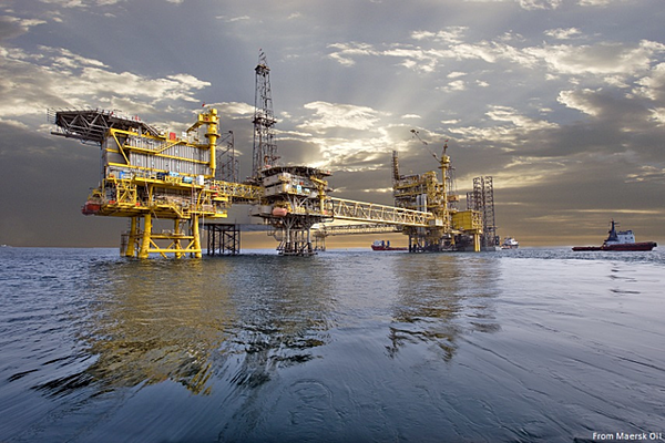 Maersk Oil, Al-Shaheen oil field offshore Qatar. North Oil Company Qualified Supplier.