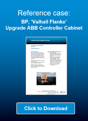 Click to download reference case: VP Valhall Flanke, Upgrade ABB controller cabinet